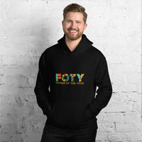 Black Unisex Hoodie Father of the Year