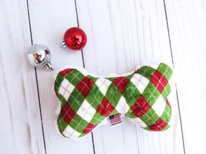 Christmas Argyle Plush