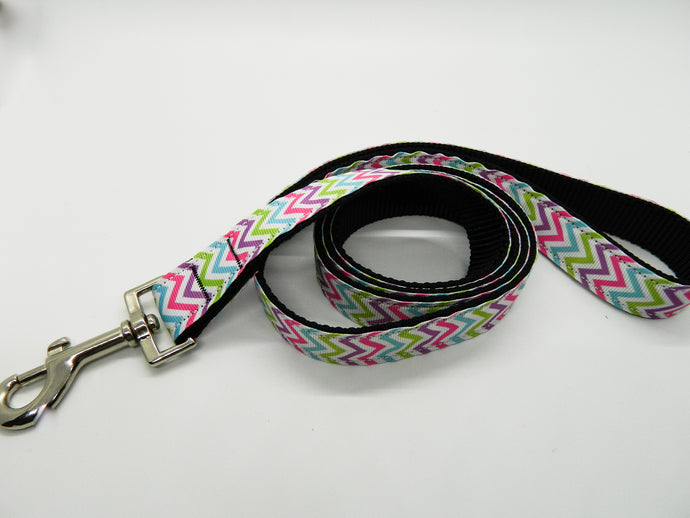 Pastel Chevron Leash