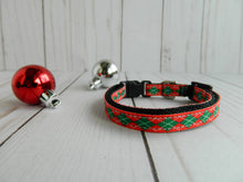 Christmas Argyle - Small 3/8""