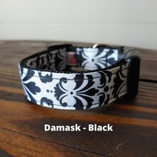 Damask Collar - Black