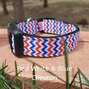 Red White & Blue Chevron