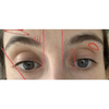 Example of edited brow photo