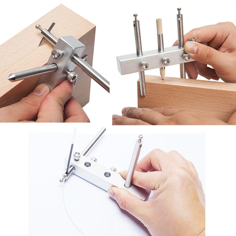 Marking Gauge | Marking Center Finder | Multifunctional - Cowryman