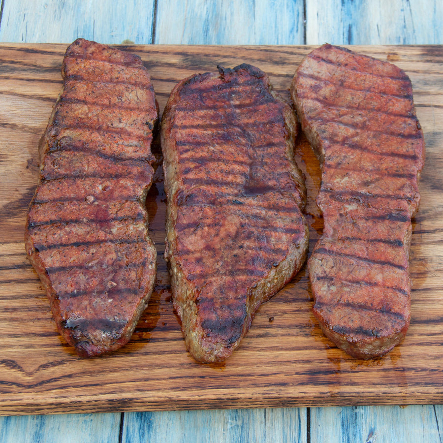 16 oz New York Strips-TriTails Premium Beef, LLC