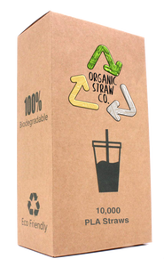 PLA Straws - 10,000 Full Case