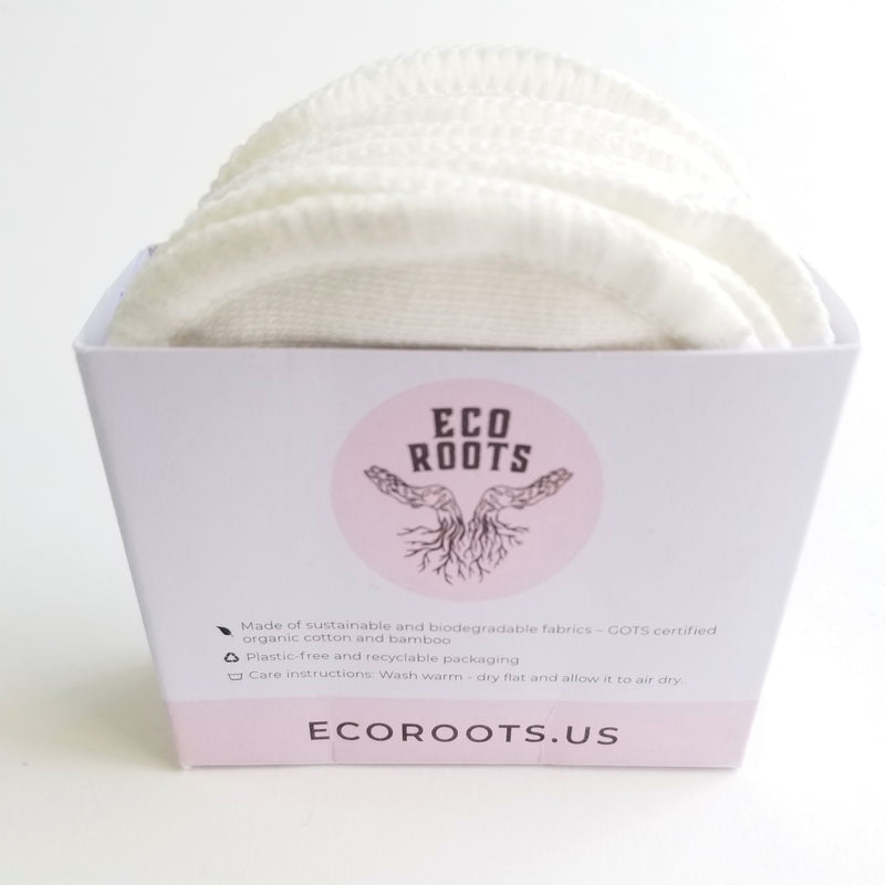 organic reusable facial cotton rounds