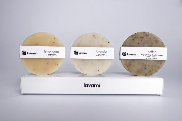 3 Natural Soap Set