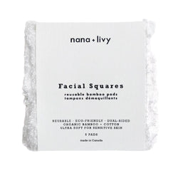 5 Dual-Sided Facial Squares