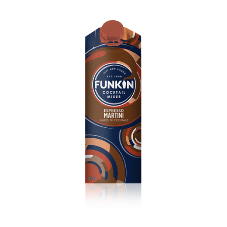 Alkohol Miniaturen:Funkin Espresso Martini Cocktail Mixer