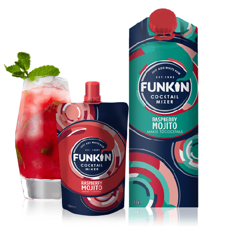 Alkohol Miniaturen:Funkin Raspberry Mojito Cocktail Mixer