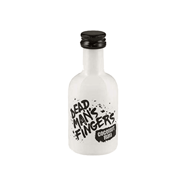 Alkohol Miniaturen:Dead Mans Fingers Coconut Rum Miniature - 50ml