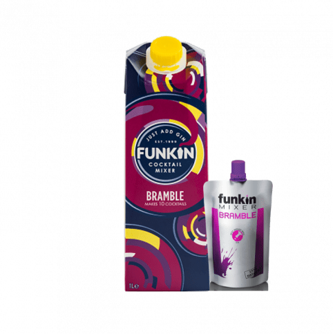Alkohol Miniaturen:Funkin Bramble Cocktail Mixer