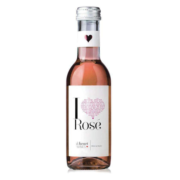 Alkohol Miniaturen:I Heart Rose wine - 18.750ml