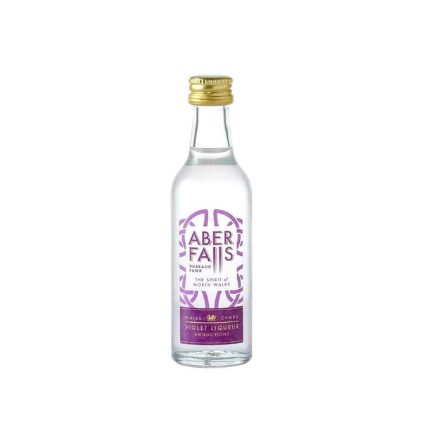 Alkohol Miniaturen:Aber Falls Violet Liqueur Miniature - 50ml,Miniature Drinks