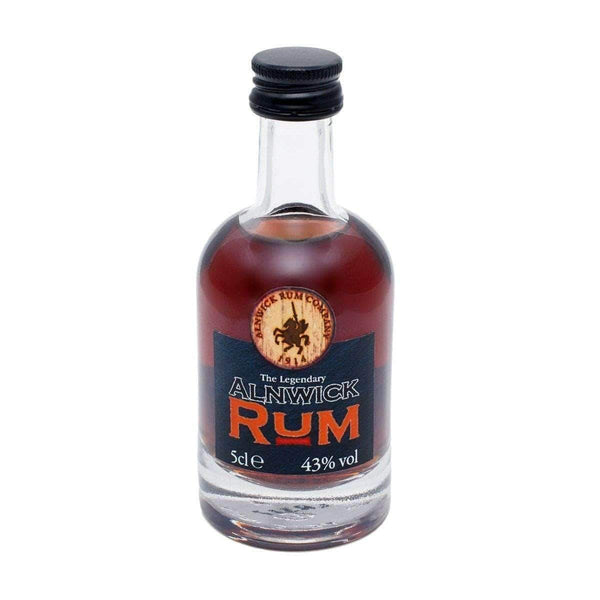 Alkohol Miniaturen:Alnwick Dark Rum Miniature - 50ml,Miniature Drinks