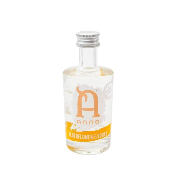 Alkohol Miniaturen:Anno Elderflower & Vodka Miniature - 50ml,Miniature Drinks