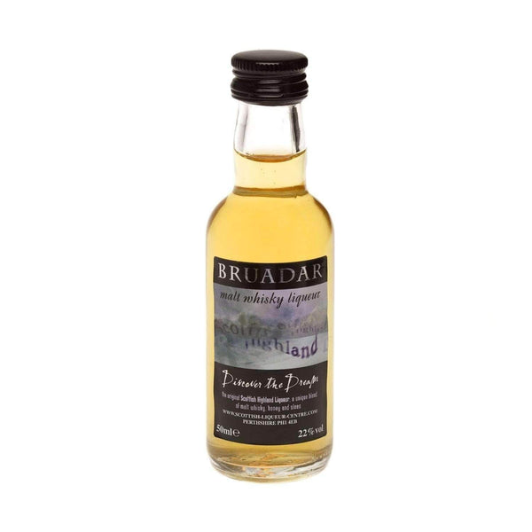 Alkohol Miniaturen:Bruadar Malt Whisky Liqueur Miniature - 50ml,Miniature Drinks