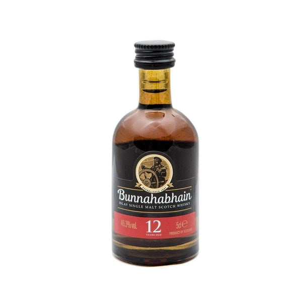 Alkohol Miniaturen:Bunnahabhain 12 yr Single Malt Scotch Whisky Miniature - 50ml,Miniature Drinks