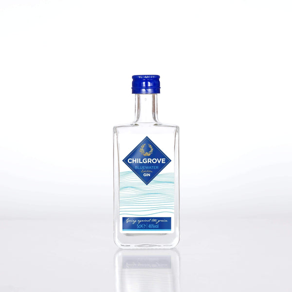 Alkohol Miniaturen:Chilgrove Bluewater Edition Gin Miniature - 50ml,Miniature Drinks