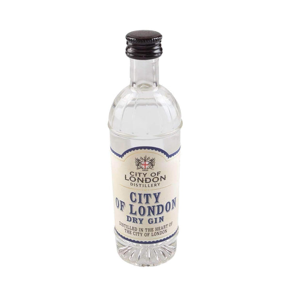 Alkohol Miniaturen:City Of London Distillery London Dry Gin Miniature - 50ml,Miniature Drinks