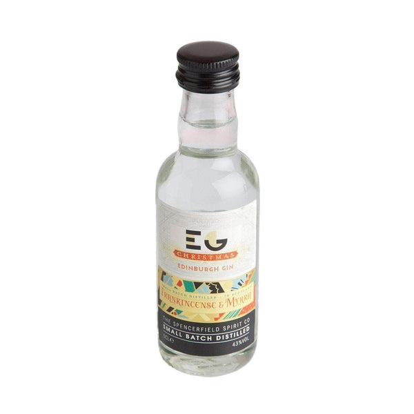 Alkohol Miniaturen:Edinburgh Christmas Gin Miniature - 50ml,Miniature Drinks