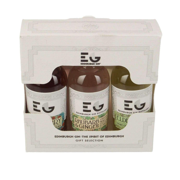 Alkohol Miniaturen:Edinburgh Gin Liqueur Miniature Gift Set - 3 x 50ml