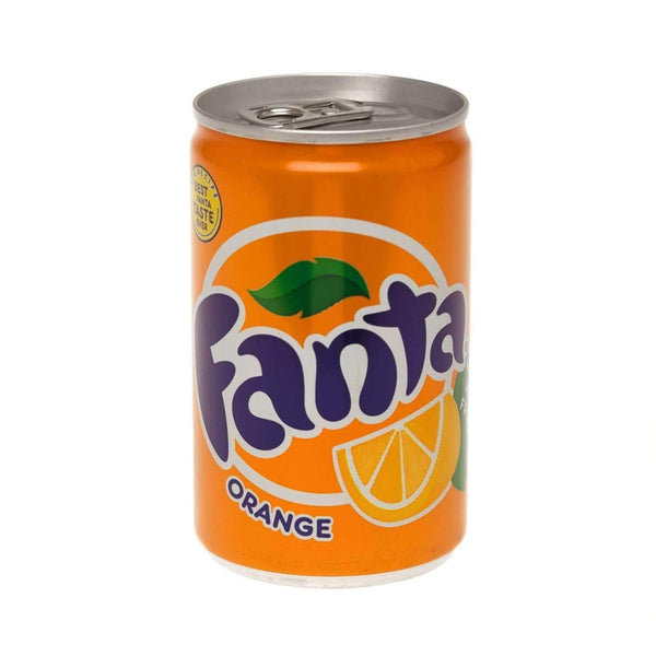 Alkohol Miniaturen:Fanta Orange Miniature Can (150ml)
