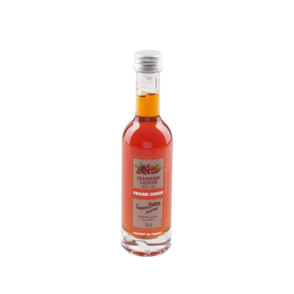 Alkohol Miniaturen:Gabriel Boudier Cranberry Liqueur Miniature - 50ml,Miniature Drinks