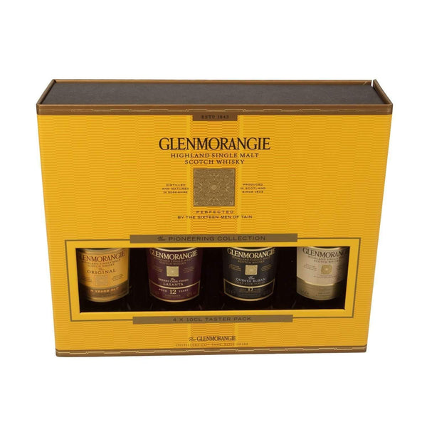 Alkohol Miniaturen:Glenmorangie Single Highland Malt Scotch Whisky Miniature Gift Set - 4 x 100ml