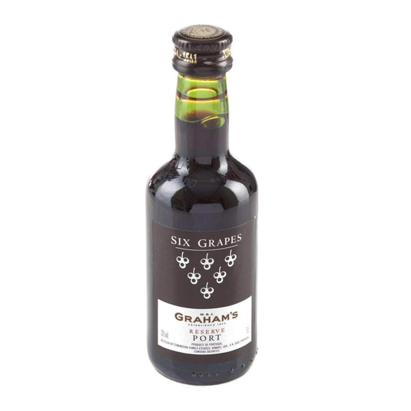 Alkohol Miniaturen:Grahams Six Grapes Reserve Port Miniature - 50ml,Miniature Drinks