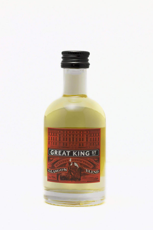 Alkohol Miniaturen:Great King Street Glasgow Blend Blended Scotch Whisky Miniature - 50ml,Miniature Drinks