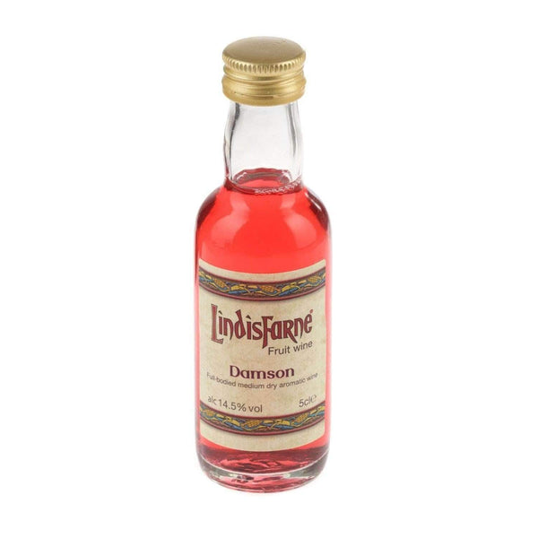 Alkohol Miniaturen:Lindisfarne Damson Fruit Wine Miniature - 50ml,Miniature Drinks