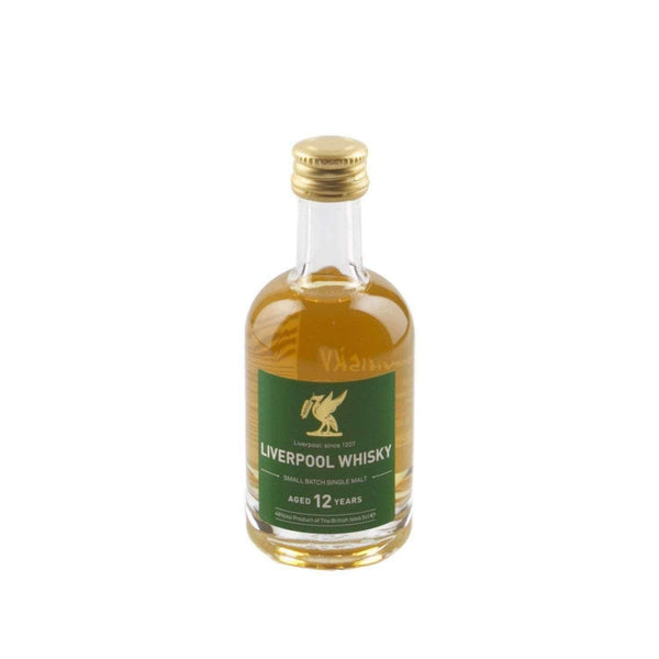Alkohol Miniaturen:Liverpool Small Batch 12 year Single Malt Whisky Miniature - 50ml,Miniature Drinks