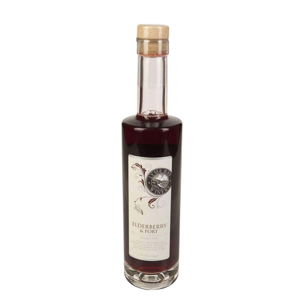 Alkohol Miniaturen:Lyme Bay Elderberry & Port Liqueur - 350ml