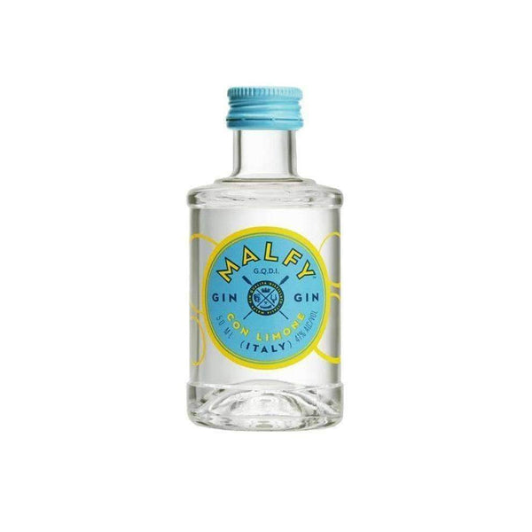 Alkohol Miniaturen:Malfy Gin Con Limone Miniature - 50ml,Miniature Drinks