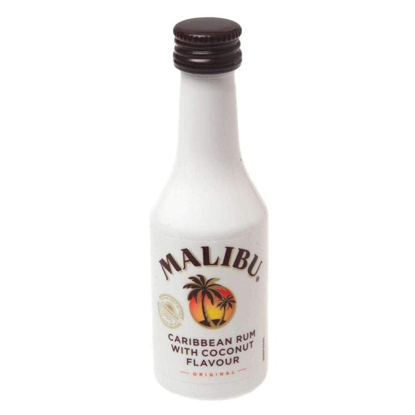 Alkohol Miniaturen:Malibu Coconut Rum Miniature - 50ml,Miniature Drinks