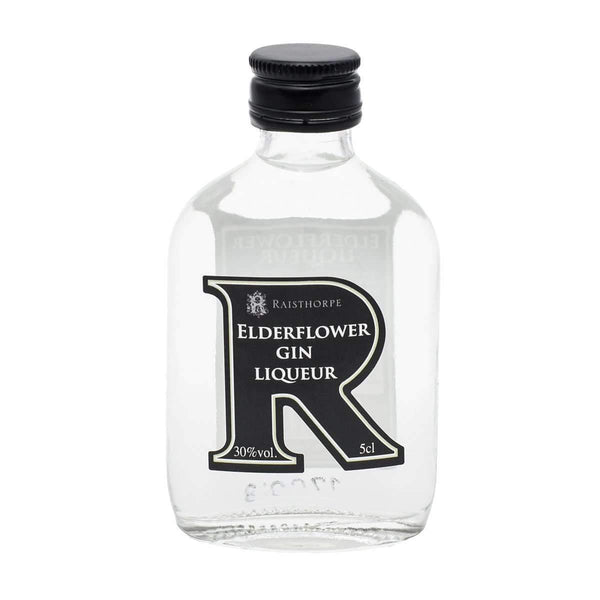 Alkohol Miniaturen:Raisthorpe Manor Elderflower Gin Liqueur Miniature - 50ml,Miniature Drinks