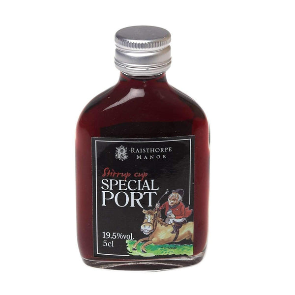 Alkohol Miniaturen:Raisthorpe Manor Stirrup Cup Special Port Miniature - 50ml,Miniature Drinks