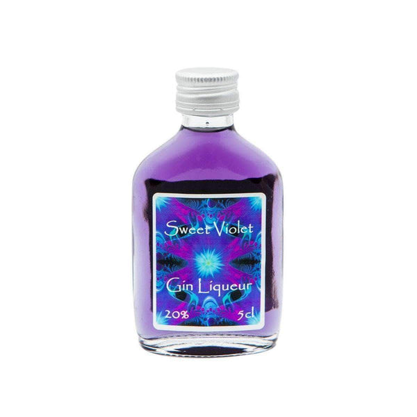Alkohol Miniaturen:Raisthorpe Manor Sweet Violet Gin Liqueur Miniature - 50ml,Miniature Drinks