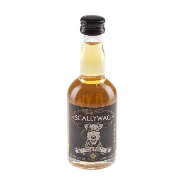 Alkohol Miniaturen:Scallywag Blended Malt Scotch Whisky Miniature - 50ml,Miniature Drinks