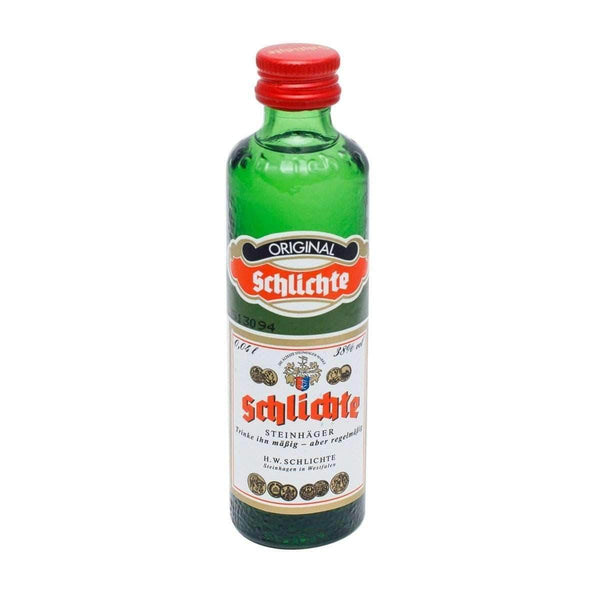Alkohol Miniaturen:Schlichte Steinhager Liqueur Miniature - 40ml,Miniature Drinks