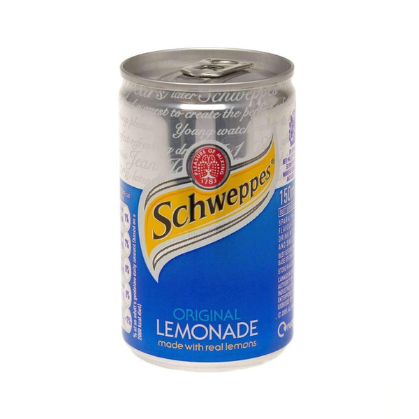 Alkohol Miniaturen:Schweppes Lemonade Miniature Can (150ml)