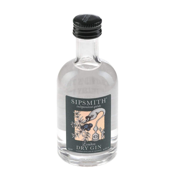 Alkohol Miniaturen:Sipsmith London Dry Gin Miniature - 50ml,Miniature Drinks