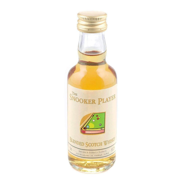 Alkohol Miniaturen:Snooker Player Blended Scotch Whisky Miniature - 50ml,Miniature Drinks