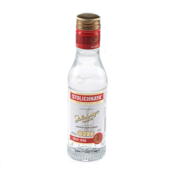 Alkohol Miniaturen:Stolichnaya Plain Vodka Miniature - 50ml,Miniature Drinks