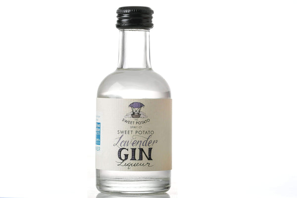 Alkohol Miniaturen:Sweet Potato Lavender Gin Liqueur Miniature - 200ml,Bigger Bottles