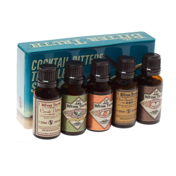 Alkohol Miniaturen:The Bitter Truth Traveller's Miniature Gift Set - 5 x 20ml