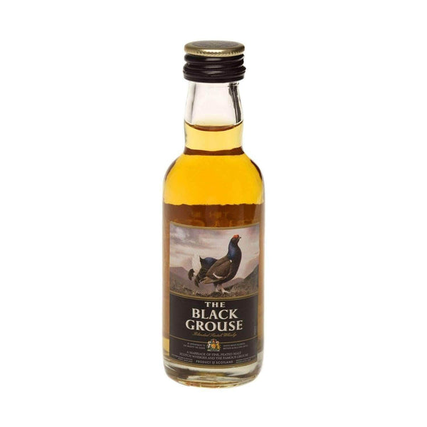 Alkohol Miniaturen:The Famous Grouse Smoky Black Blended Scotch Whisky Miniature - 50ml,Miniature Drinks