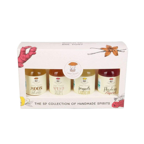 Alkohol Miniaturen:The Sweet Potato Selection Miniature Gift Pack - 4 x 50ml